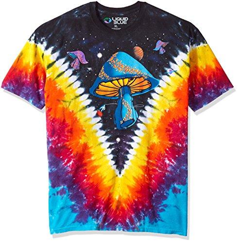 (Space Shrooms - Light Fantasy T-Shirt Size XL)