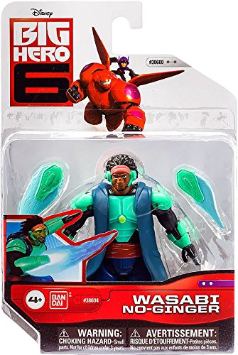 Big Hero 6 4-Inch Wasabi No-Ginger Action - Wasabi 4