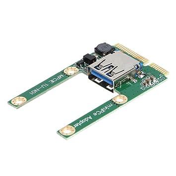 Ahomi Mini PCI-E para USB 3.0 PCI Express Tarjeta PCI-E para ...
