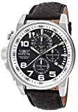 Men's Invicta Black Genuine Leather