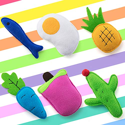 AWOOF Catnip Toys for Cats, Natural Catnip Kitten Toys Cat Toys Set 3