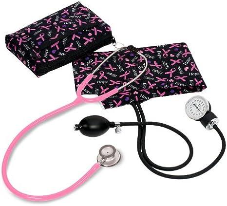 Prestige Medical Prestige Medical – Tensiómetro aneroide/Clinical Lite kit-hope lazo rosa impresión: Amazon.es: Salud y cuidado personal