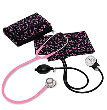 Prestige Medical Prestige Medical - Tensiómetro aneroide/Clinical Lite kit-hope lazo rosa impresión: Amazon.es: Salud y cuidado personal