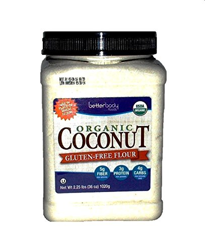 Betterbody foods Organic Coconut Flour, 36 Ounce