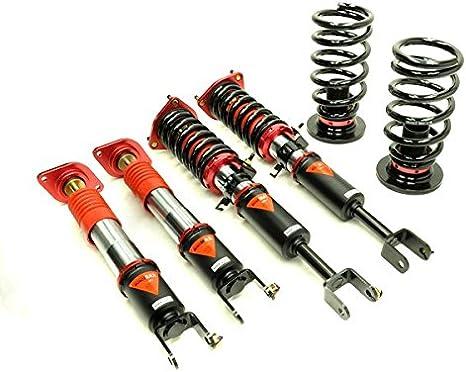 2003 2004 2005 2006 2007 2008 2009 Nissan 350Z Coilover Struts Suspensions Shock Struts Kits Assembly SCITOO Full Set Shocks Struts Kits Fit for 2003 2004 2005 2006 2007 2008 Infiniti G35