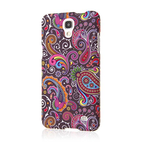 MPERO SNAPZ Series Rubberized Case for Samsung Galaxy Mega 2 - Black Paisley