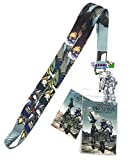 GE Animation Gundam Ibo-Orga, Mikazuki & Barbados Lanyard Cool Anime Item