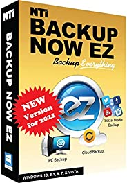 NTI Backup Now EZ 7 | Backup Everything to Anywhere | PC Backup or Image Backup | Social Media Backup | Cloud
