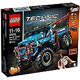 LEGO - Technic - La dépanneuse tout-terrain 6x6 - 42070 - Jeu de Construction