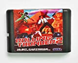 Taka Co 16 Bit Sega MD Game Rolling Thunder 2 16 bit MD Game Card For Sega Mega Drive For Genesis