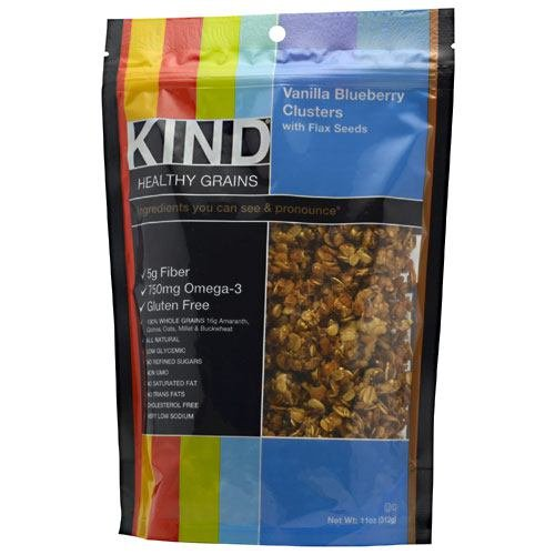 Kind Fruit & Nut Bars Clstr Van Blubry W/Flax 11 Oz