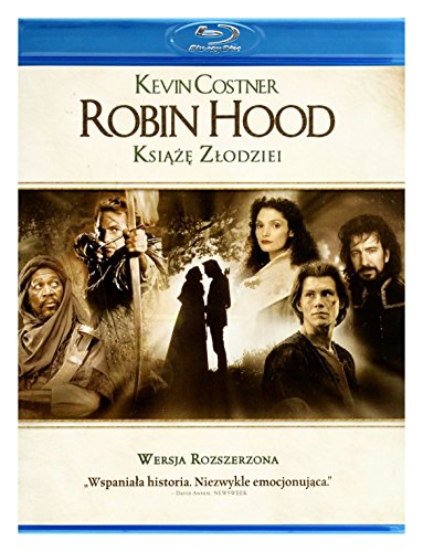 Robin Hood. Prince Of Thieves (English audio. English subtitles) (Robin Hood Prince Of Thieves Blu Ray)