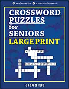 Crossword Puzzles For Seniors Large Print Crossword Easy Puzzle Books Crossword Jam And Word Whizzle Search Puzzle Wordbrain Books For Adults Wordbubbles Set Volume 2 Dyer Nancy 9781720514909 Amazon Com Books