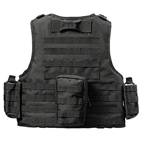 YAKEDA Outdoor CS Game Vest Adjustable Fit Adult 900D Nylon-E88005
