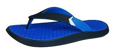 74978a90d1d699 Rider Brasil R1 Plus Black Blue Mens Beach Pool Flip Flops
