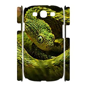 DIYPCASE Samsung Galaxy S3 I9300 Case Snake Photography Customized Gifts Hard Case