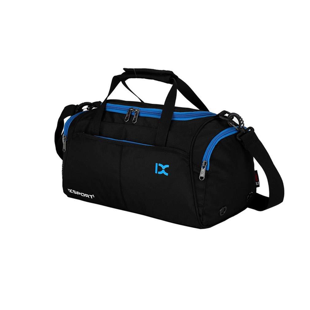 Multi-Function Travel Bag Suitcase Men&Women Capacity Luggage Bags Waterproof Handbags Sky Blue