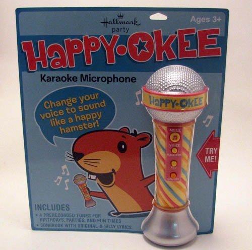 Hallmark Birthday BDY1205 Happy-Okee Microphone by Hallmark (Image #1)