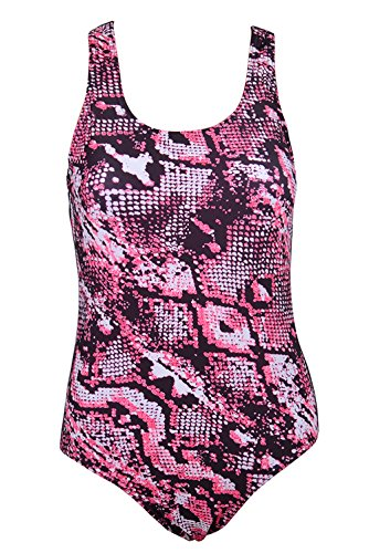 Phayon Tummy Control Push Up Swimsuit Tankini Pads Print Snakeskin Pattern One Piece For Women (Snake Print Tankini)