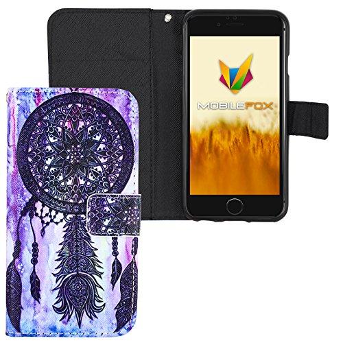 Mobilefox Traumfänger Flip Case Handytasche Apple iPhone 6/S