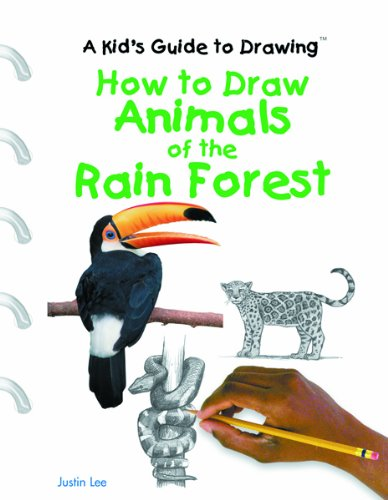 How to Draw Animals of the Rain Forest (A Kid's Guide to Drawing)