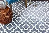 Persian-Rugs Moroccan Trellis Area Rug Carpet, 5 x