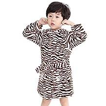 Liveinu Boys Sleep Robe Bathrobe Pajamas with Hooded