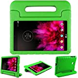 Bolete LG G PAD 7.0 Case Kiddie Toddler Kids ShockProof Light Weight Super Protection Handle Stand Cover Case for LG G Pad V400/V410 (LTE)/VK410/UK410/LK430 (G Pad F7.0) 7-Inch Android Tablet, Green
