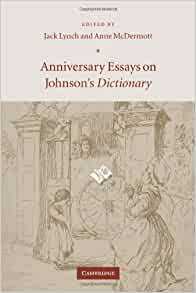 anniversary dictionary essay johnsons