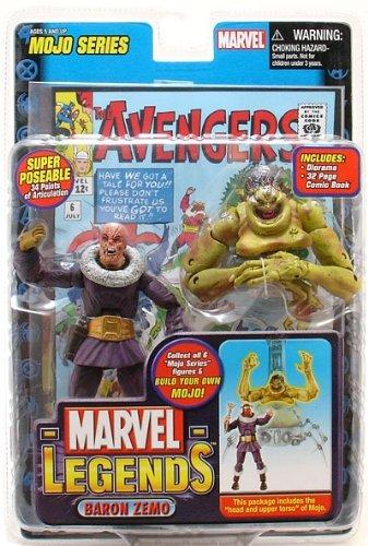 Marvel Legends Series 14 Action Figure Unmasked Baron Zemo VARIANT by Marvel