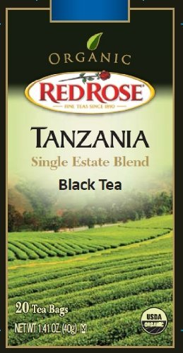 zania Single Estate Blend Black Tea (20 Red Roses)