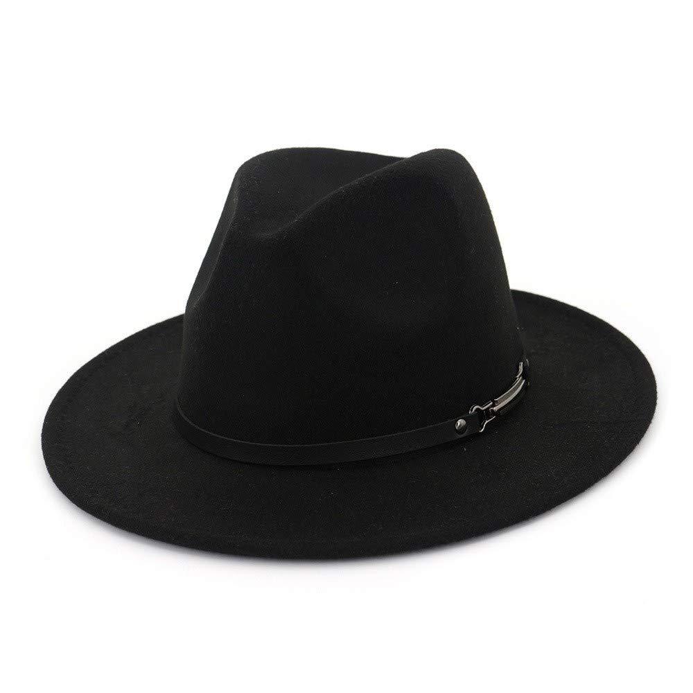 2790a67c7a8 HYXUM Vintage Fedora Style Hats and borsalino Hat Women Men Wide Brim Jazz  Hat Mafia Felt Panama Chapeu Feminino Sombreri Mujer Elegantes
