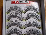 Model 21 High End No. 12,13,14,15,16,17,18,19 or 20 False Fake Eyelashes 10 Pairs