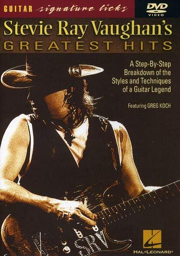Stevie Ray Vaughan's Greatest Hits - Signature Licks DVD (Best Riffs To Learn)