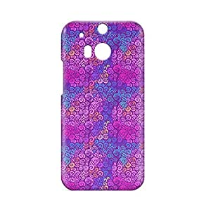 Clouds HTC One M8 3D wrap around Case - Design 9