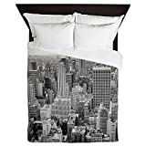 CafePress - New York City Skyscrapers - Queen Duvet Cover, Printed Comforter Cover, Unique Bedding, Luxe