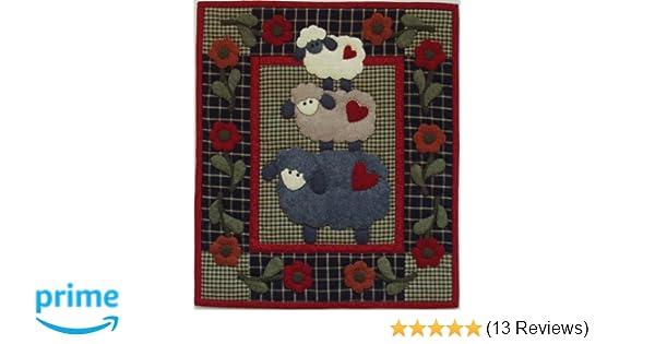 e81f4cd07b20 Amazon.com  Rachel s Of Greenfield Wooly Sheep quilt kit 13