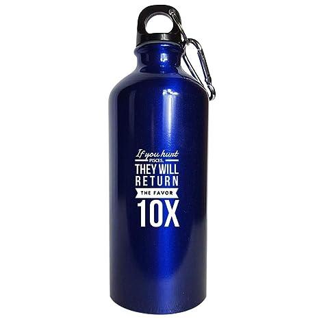 Amazon com: Pisces Astrology Water Bottle Metallic Blue - If