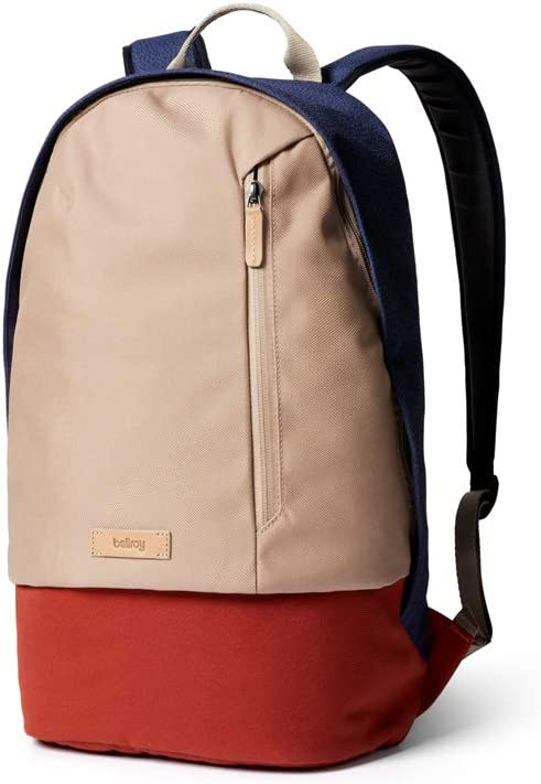 Bellroy Campus Backpack (Slim College Backpack, Protect Sleeve for Laptops Up to 15 Inch, Internal Organization Pockets) - Desert Ochre
