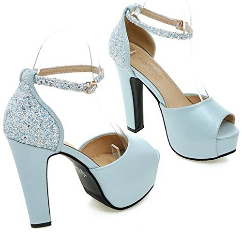 Plataforma Blue Fashion 2 Zanpa Mujer Sandalias qXw1xET