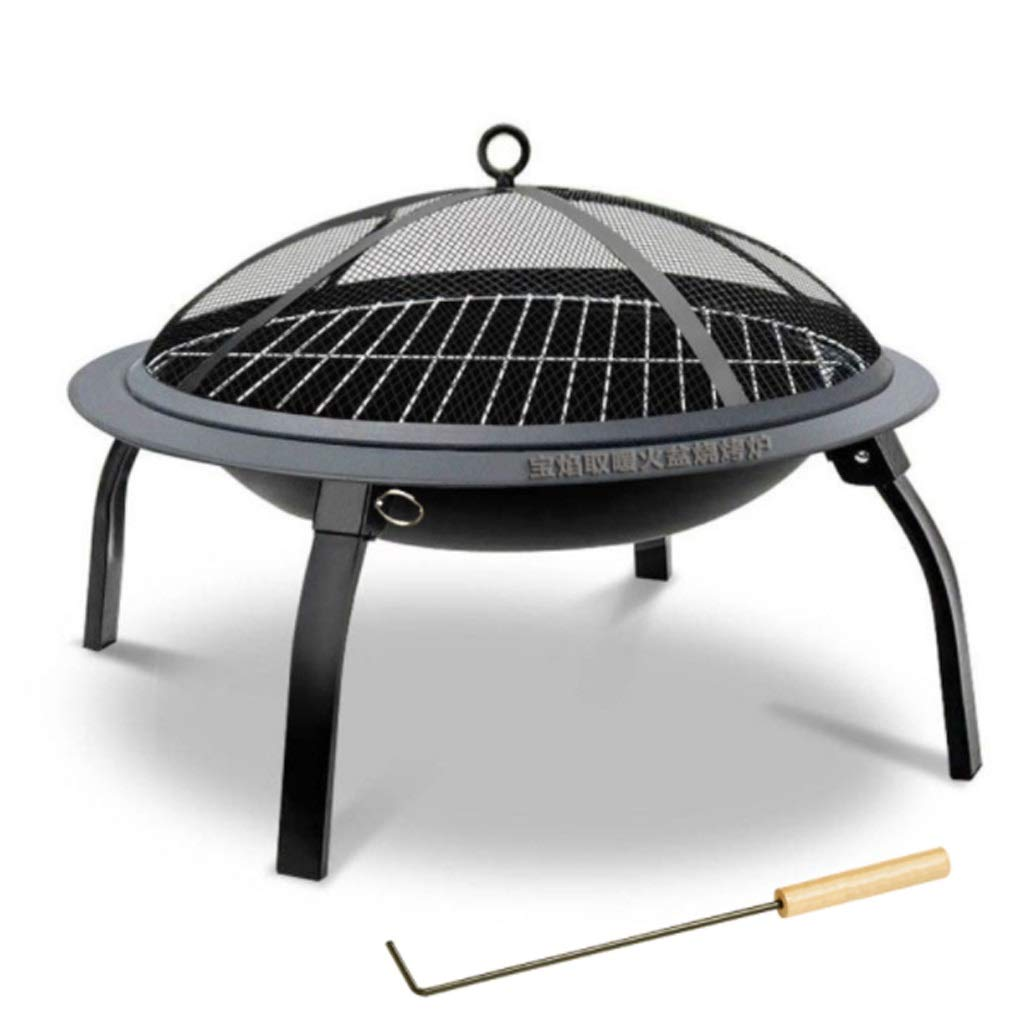 MEI XU Barbecue Grill BBQ Grill - Outdoor Folding Portable Camping Barbecue Stove Charcoal Heating Brazier Carbon Roasting Stove Barbecue Stove Stove BBQ Home Barbecue Rack fire Rack Charcoal Stove