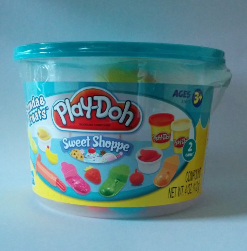 Play-doh Sweet Shoppe Sundae Treats 4 Oz. Pail