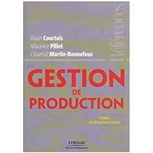 GESTION DE PRODUCTION 4ÈME ÉDITION