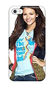 New WxLaZrT11716IeJVL Victoria Justice Tpu Cover Case For Iphone 5/5s