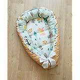 Baby Nest Crib Cotton Baby Bed Baby Gift Nursery White