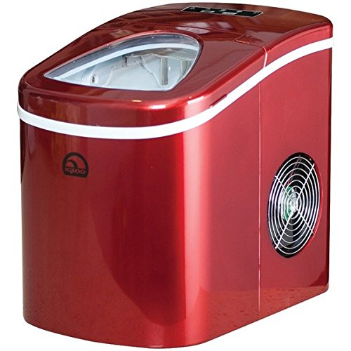 Igloo ICE108-RED Compact Ice Maker, Red