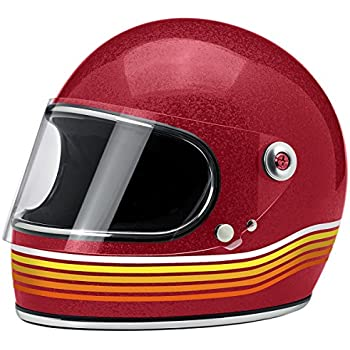 Biltwell Gringo S Solid Full-face Motorcycle Helmet - Spectrum Wine Red / Large