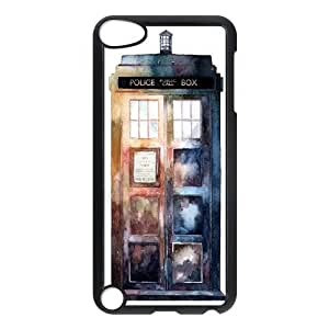 New Tardis Doctor Who Police Box Hard Plastic phone Case Cover+Free keys stand FOR Ipod Touch 5 XFZ431905