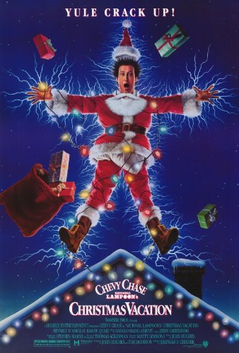 National Lampoon's Christmas Vacation Poster 27x40 Chevy Chase Beverly D'Angelo Randy Quaid Poster Print, ()