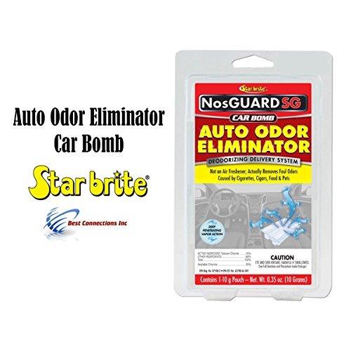 Auto Odor Eliminator Control System Car Bomb Star Brite 199088 Pack Display